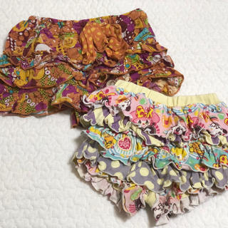 GrandGround - 【 GrandGround/グラグラ】 ベビー服、キッズ服 女の子 パンツ 2枚