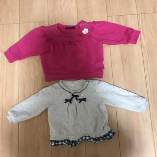 サンカンシオン(3can4on)の80センチ トップス3can4on  moujonjonセット(Tシャツ)