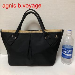 agnes b. - agnis b. voyage トートバッグ  黒