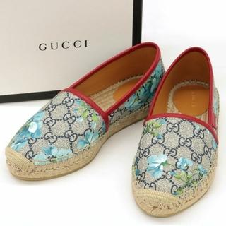 グッチ(Gucci)の【GUCCI】グッチ GGスプリーム エスパドリーユ 箱・袋付き♪ 新品(スリッポン/モカシン)