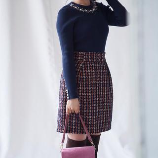 リランドチュール(Rirandture)のリランドチュール ツイードスカート サイズ0(ミニスカート)