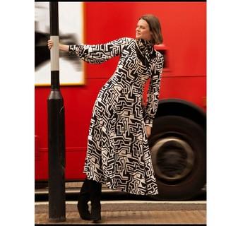 エイチアンドエム(H&M)の新品タグ付き H&M × リチャードアラン ベルスカートワンピース 42  L(ロングワンピース/マキシワンピース)