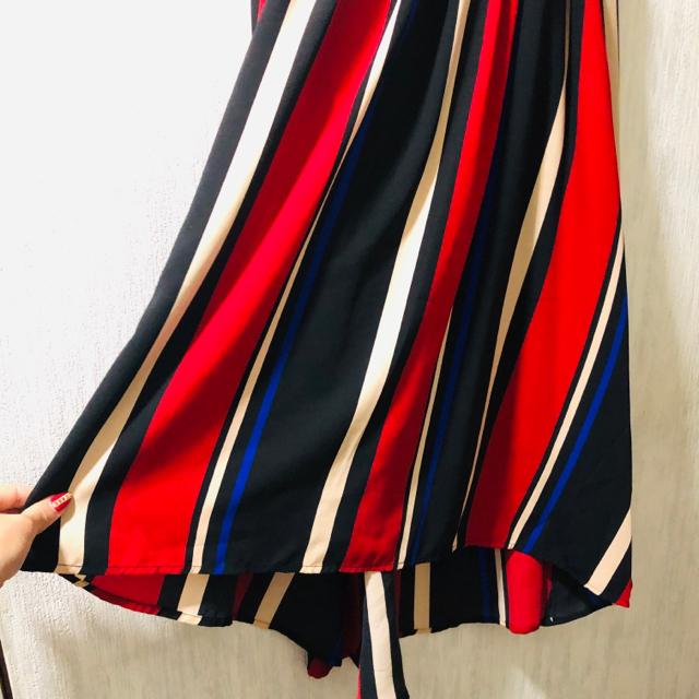one*way(ワンウェイ)のRoomy's ストライプスカート レディースのスカート(ひざ丈スカート)の商品写真