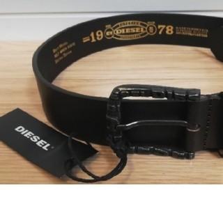 DIESEL - 新品未使用◆ディーゼルDIESEL 茶色革ベルト メンズビジネス