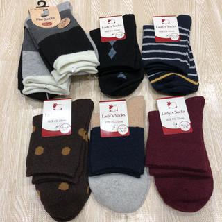 スリーコインズ(3COINS)の新品♡ レディース ソックス 靴下 7足セット!(ソックス)
