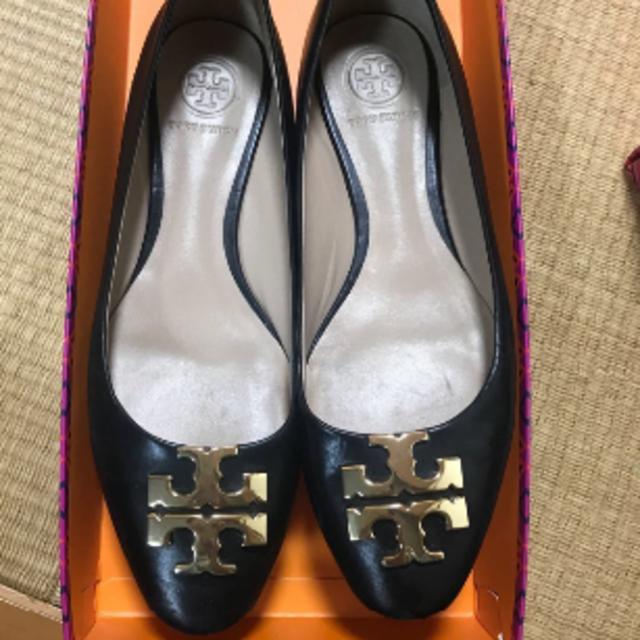 トリーバーチ 5.5 ブラック フラットシューズ 約22.5cm レディースの靴/シューズ(バレエシューズ)の商品写真