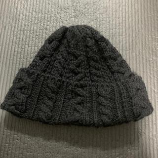 ビームス(BEAMS)のhighland2000 ニット帽 黒(ニット帽/ビーニー)