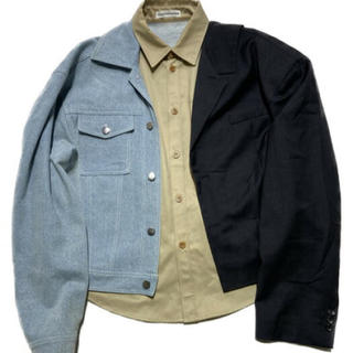 Balenciaga - gosha rubchinskiy ドッキングジャケット
