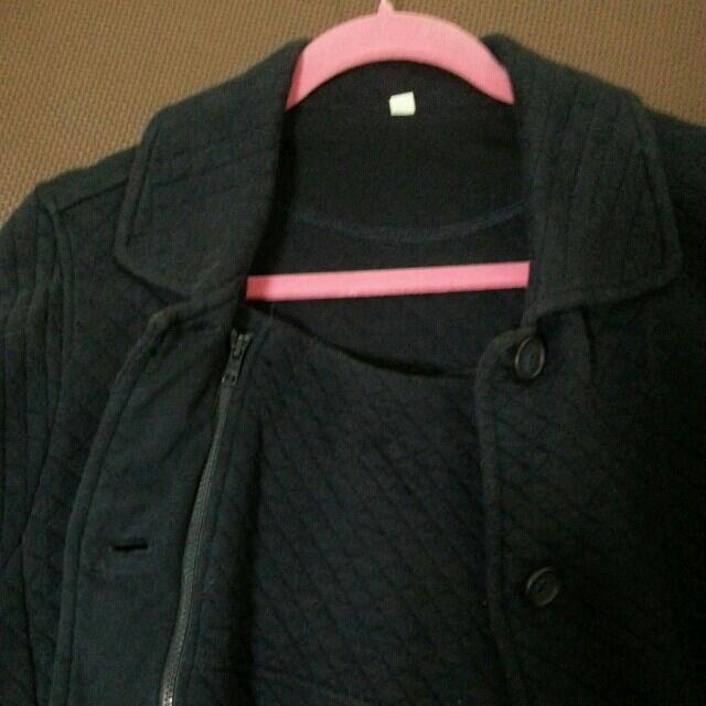 MUJI (無印良品)(ムジルシリョウヒン)の無印良品ママコート キッズ/ベビー/マタニティのマタニティ(マタニティアウター)の商品写真