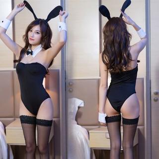 超セクシー ★6点セット バニーガール コスプレ ウサギ ベビードール 19A