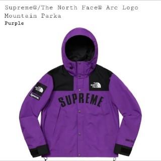 シュプリーム(Supreme)のSupreme The North Face  Arc Logo Mountai(マウンテンパーカー)
