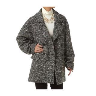 SLY - SLY WOOL DOUBLE SHORT COAT スライ コート