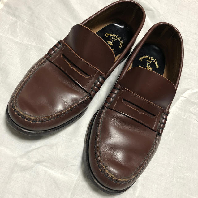 REGAL(リーガル)のREGAL リーガル ローファー 24.5cm 茶色 ブラウン レディースの靴/シューズ(ローファー/革靴)の商品写真