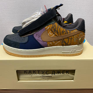 NIKE - 国内正規品 TRAVIS SCOTT NIKE AIR FORCE 1 LOW