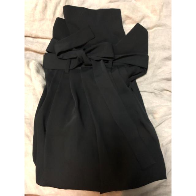 ENFOLD(エンフォルド)のENFOLD☆ エステルクロスワンショルストレートスカート ☆未使用 レディースのスカート(ひざ丈スカート)の商品写真