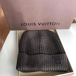 ルイヴィトン(LOUIS VUITTON)のルイ・ヴィトン ニット帽(ニット帽/ビーニー)