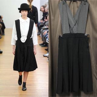 COMME des GARCONS - 破格出品 2013AW コムコム ジャンパースカート 釣りスカート サロベット