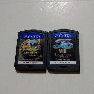 プレイステーションヴィータ(PlayStation Vita)の☆イースⅧ+セルセタの樹海☆(携帯用ゲームソフト)