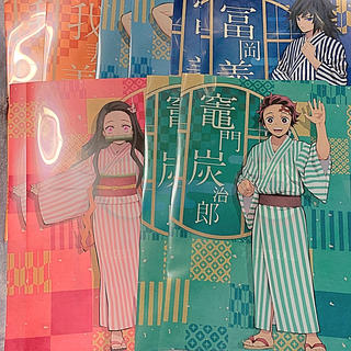 集英社 - 鬼滅の刃☆クリアファイル☆全5種×2☆10枚セット☆新品☆