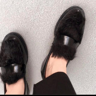 ジェフリーキャンベル(JEFFREY CAMPBELL)のJeffreyCampbell  ローファー 37(ローファー/革靴)