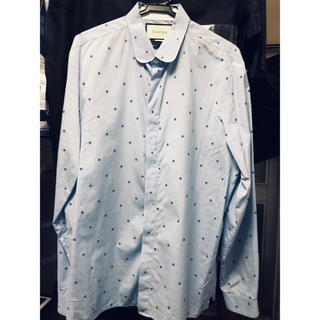 Gucci - GUCCI 17ss フラワーエンブロイダリーシャツ 芸能人多数着用