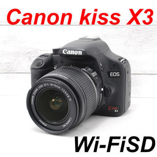Canon - ❤️初心者ぴったり❤️スマホ転送❤️Canon kiss X3