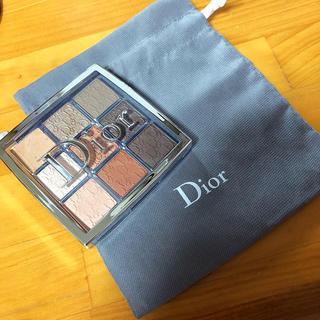 Dior - 試し塗りのみ Dior バックステージ アイパレット 001