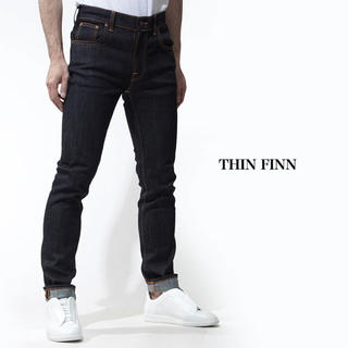 Nudie Jeans - 【極美品】ヌーディージーンズ nudie jeans thin fin