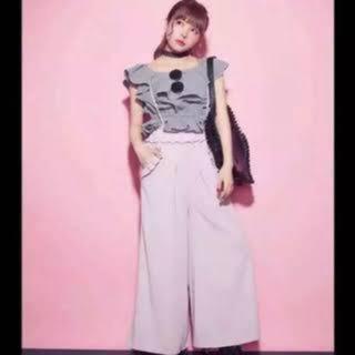 イートミー(EATME)のEATME♡ピンク♡フリル♡ワイドパンツ(その他)