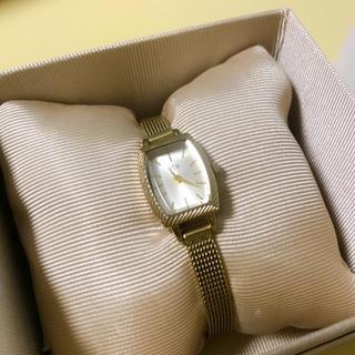 エテ(ete)のエテ イエロー ゴールド腕時計(腕時計)