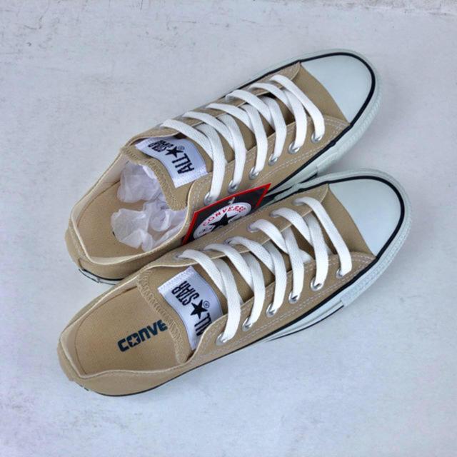 CONVERSE(コンバース)の新品 コンバース オールスター カラーズ  OX ベージュ 23.0cm レディースの靴/シューズ(スニーカー)の商品写真