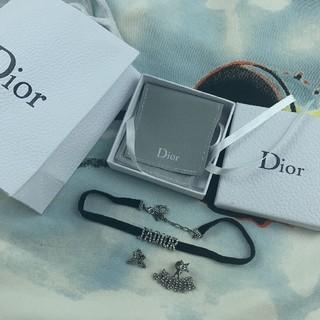 Christian Dior - DIORチョーカーとピアス
