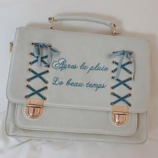 LIZ LISA - LIZLISA レースアップ3wayバッグ