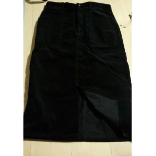 ジーユー(GU)のベッチンタイトスカート/GU(ロングスカート)