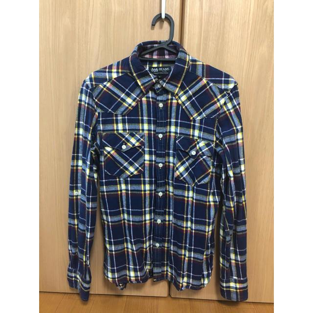 BEAMS(ビームス)のビームス ネルシャツ Sサイズ メンズのトップス(シャツ)の商品写真