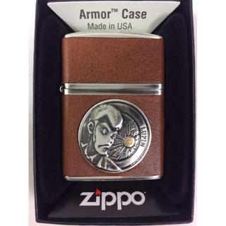 ジッポー(ZIPPO)のZippo ルパン三世 革巻き 4面巻き/ヴィンテージスタイル(タバコグッズ)