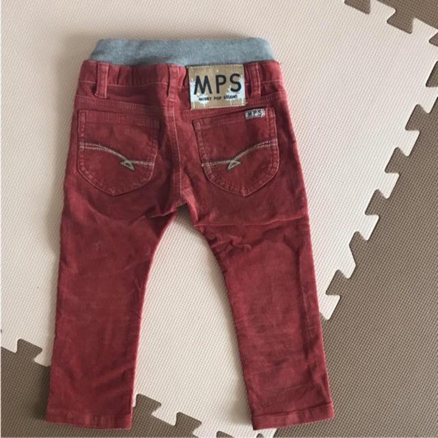 MPS(エムピーエス)のmps  コーデュロイ パンツ 90 キッズ/ベビー/マタニティのキッズ服男の子用(90cm~)(パンツ/スパッツ)の商品写真
