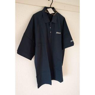 タイトリスト(Titleist)の新品未着用 Titleist ポロシャツ 紺色 Mサイズ(残り1着)(ポロシャツ)