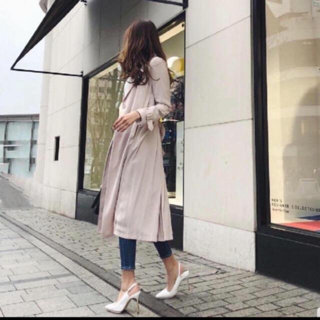 rienda(リエンダ)の大人気♡ rienda プリーツ スプリング トレンチコート ◡̈♥︎ レディースのジャケット/アウター(トレンチコート)の商品写真