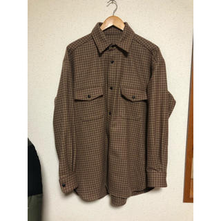 UNUSED - 18AW URU CPO SHIRT サイズ2