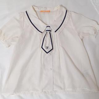 フィント(F i.n.t)のFi.n.t セーラー風ブラウス(シャツ/ブラウス(半袖/袖なし))