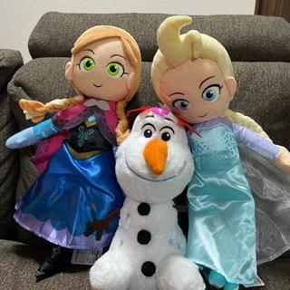 新品 アナと雪の女王2  ジャンボ ぬいぐるみ 3点セット エルサ アナ オラフ