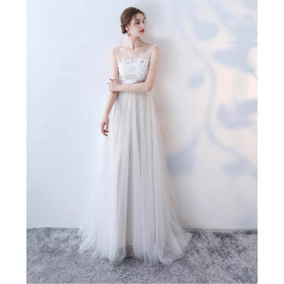 結婚式二次会ドレス ウェディングドレス ナチュラルドレス