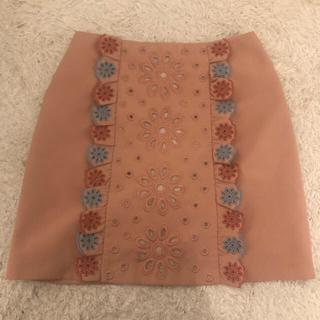 Lily Brown - リリーブラウン台形型スカート