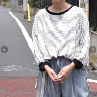 ダブルクローゼット(w closet)のW closet ボーダーTシャツ(Tシャツ(長袖/七分))