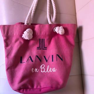 ランバンオンブルー(LANVIN en Bleu)のランバントートバック(トートバッグ)