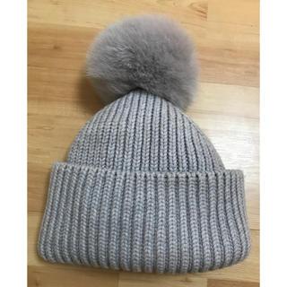 Drawer - ドゥロワー  ファーニット帽