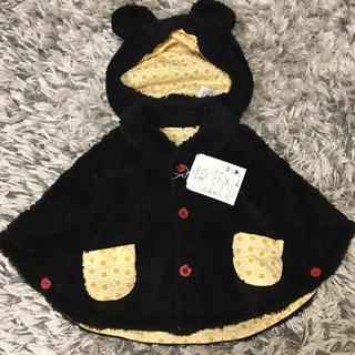 Disney - 【新品未使用】ミッキーポンチョ 帽子付き70〜80㎝