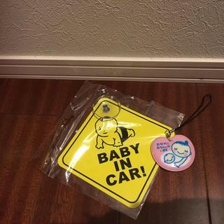 baby in car!ステッカー