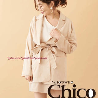 who's who Chico - 【新品】who'swhoChicoフーズフーチコ★ジャケットコート